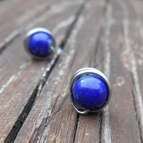 pecky z lapisu lazuli