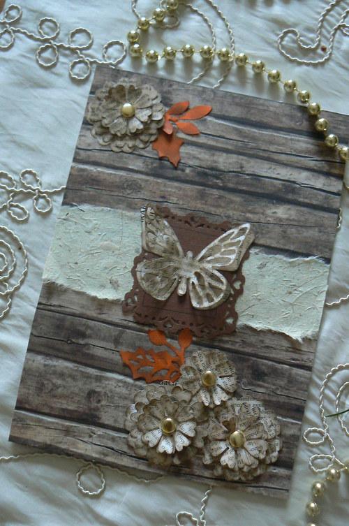 Přání s motýlkem