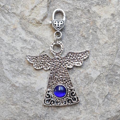 Anděl -  přívěsek na kabelku nebo klíče