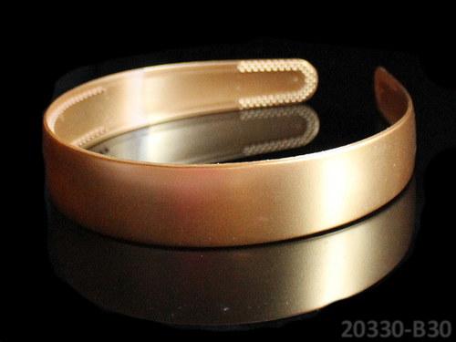 20330-B30 Čelenka 25mm ZLATÁ, á 1ks
