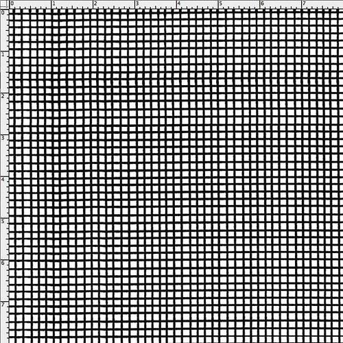 Látka Nifty Nurses by Loralie - černo/bílé kostky