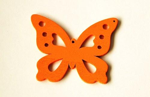 dřevění motýlci- oranžoví