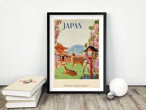 Vintage plakát Japan BOT
