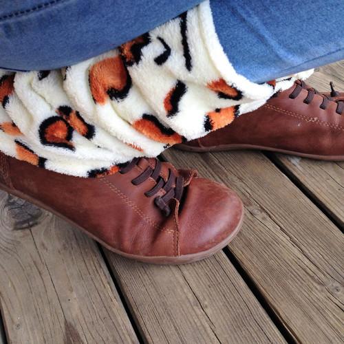 Nohy v teple...