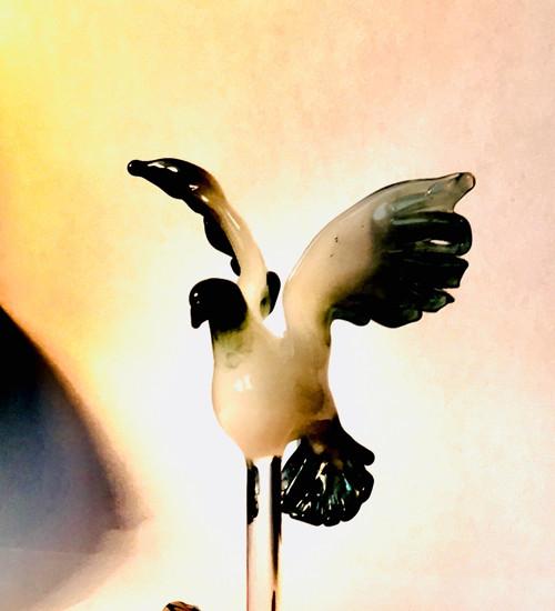 KARAFA s holubem či holubicí  0,5 l
