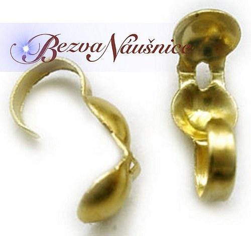 Kalota - barva zlatá 30ks