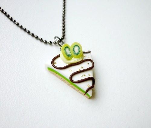 Kiwi dort - náhrdelník (15% sleva na celý nákup)