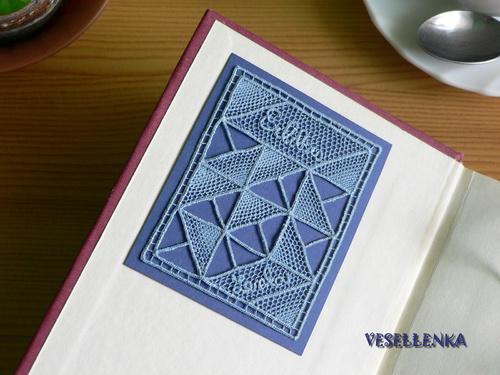 Ex Libris z krajky