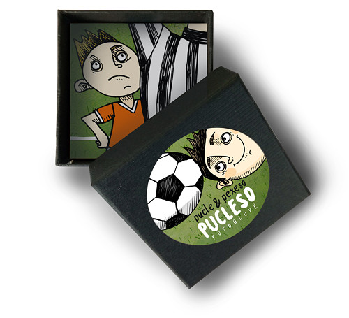 Fotbalové pucleso - pexeso a pucle v jednom