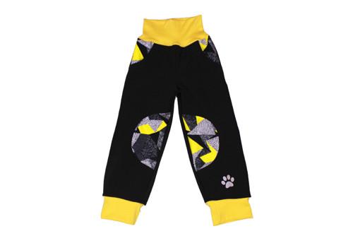Dětské softshellové kalhoty Geometrie