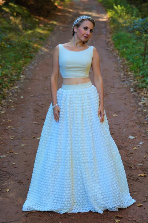 Jedinečné svatební šaty