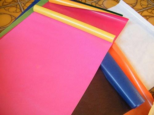 Transparentní papíry 11 barev