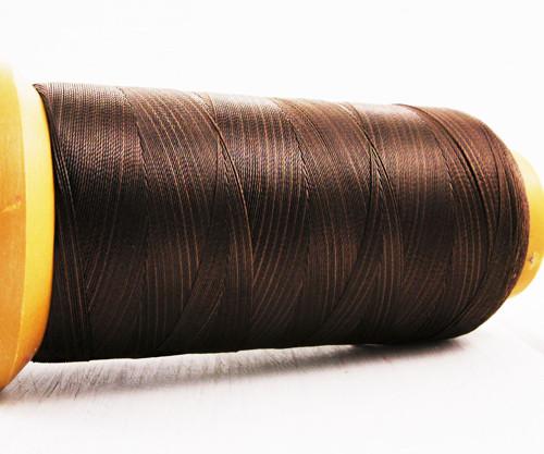 750m 820yrd tmavě Hnědé Nylon, 3-Příze Lištování S