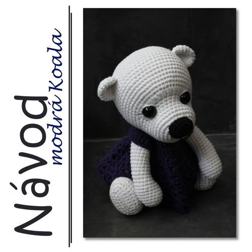 Háčkovaný lední medvídek Andy  - Návod