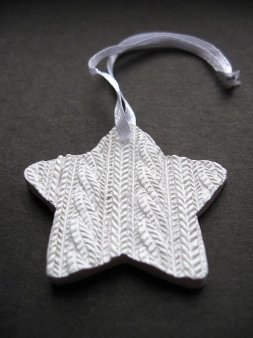 Hvězda keramika (2ks)