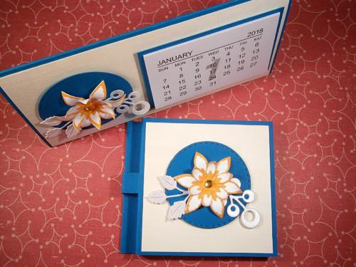 SADA - stolní mini kalendář 2018 + post-it bloček