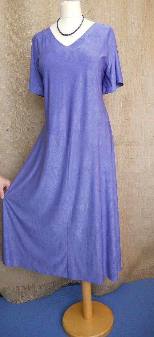 Šaty s kimono krátkým rukávem