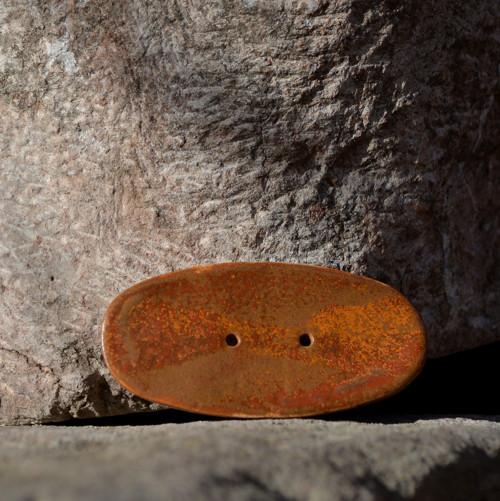 Kameninový knoflík Obdelníček velký - Klasik