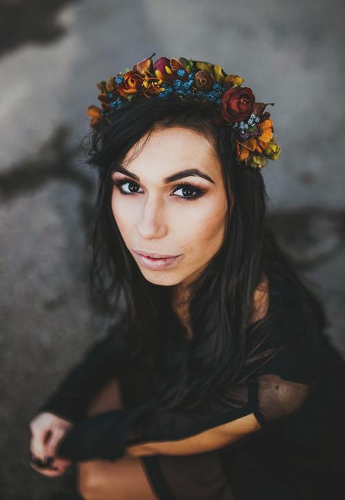 """Květinový polvenček \""""zázraky podzimní zahrady\"""""""