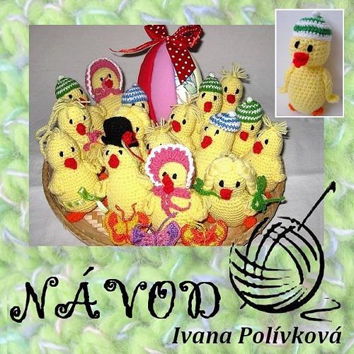 Návod na Velikonoční kuře s rádiovkou + dárek