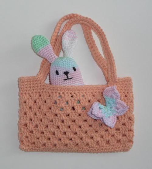 Háčkováná kabelka pro malé slečny