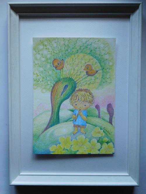 Jarní píšťalka - obrázek