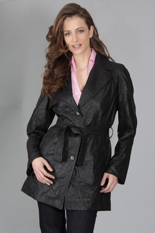 Kabát Guy - černý 0322