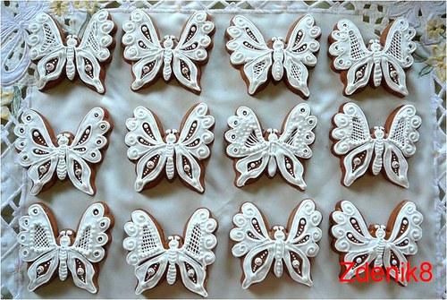 Perníkový motýl