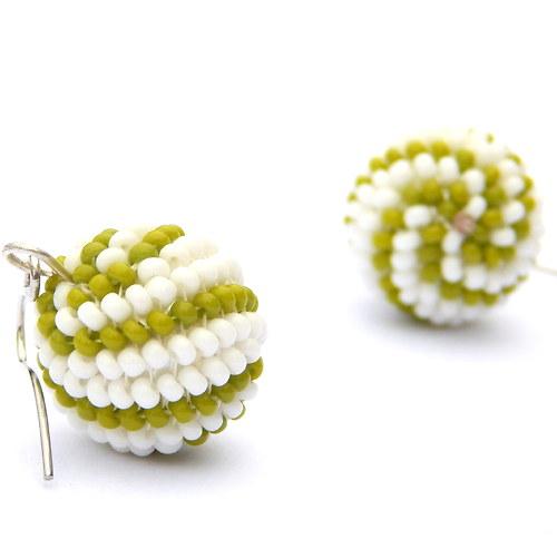 Zelené kuličky