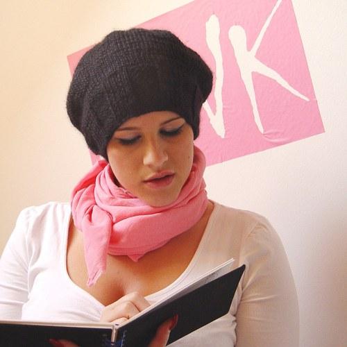 naprosto PINK! - šátek růžový