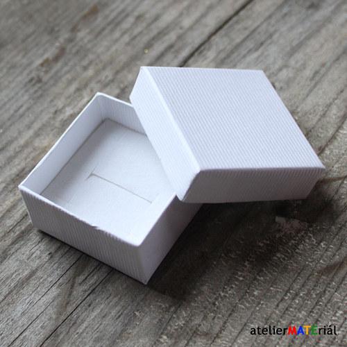 Papírová krabička SOFIA bílá S
