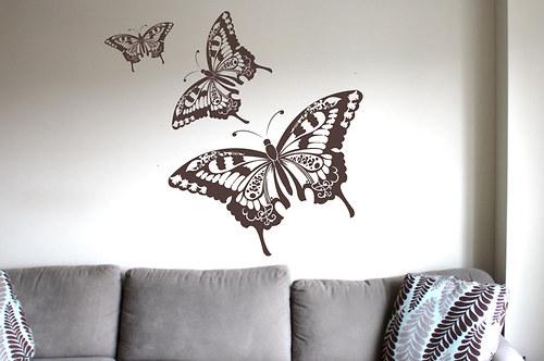 Dekorativní motýli velcí