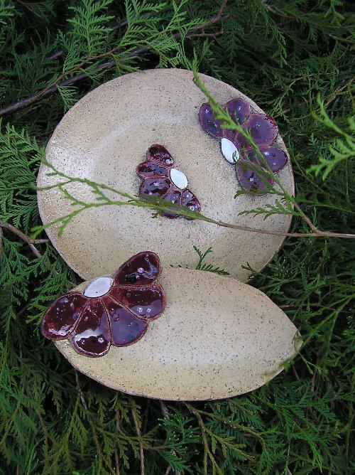 Keramické talířky