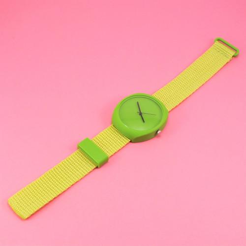 Designové hodinky duha green