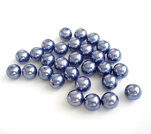 Voskové kuličky modré 10mm