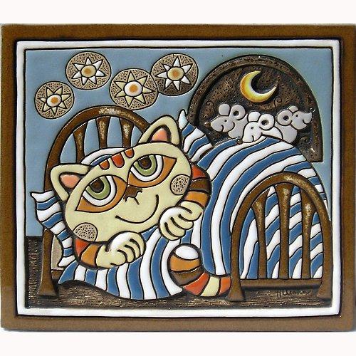 Kočka v peřině a myši K-102-N-N1