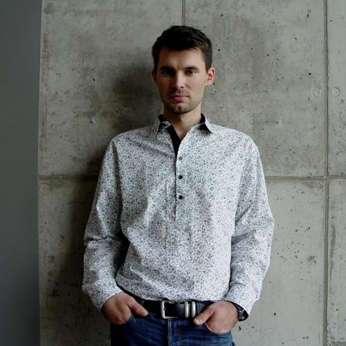ČERNÁ ZPÍVÁ pánská bavlněná košile vel. L