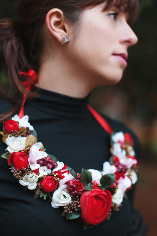 náhrdelník by The world of flowers