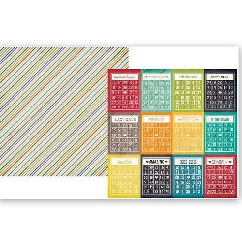 Scrapbookový papír SS /3x4/I Heart Summer Bingo
