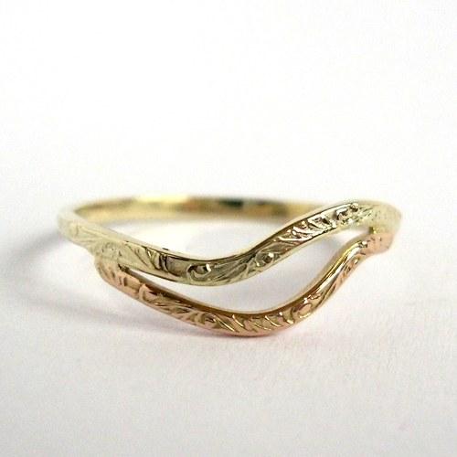 Jeseníky (prsten, Au 585/1000)