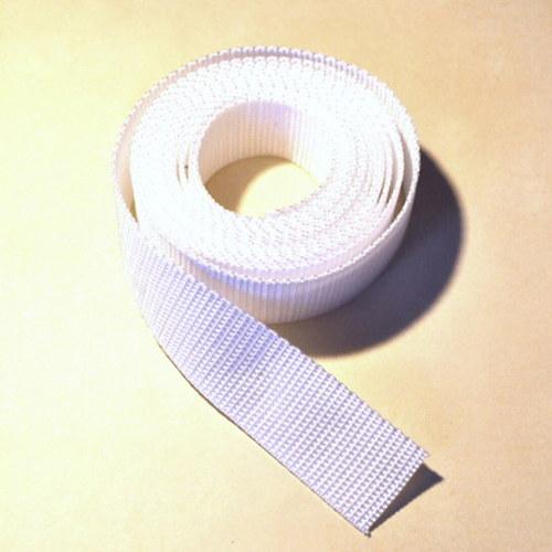 Popruh POP 1,5 cm - bílá