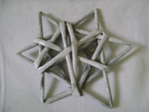 Hvězdička šedá patina