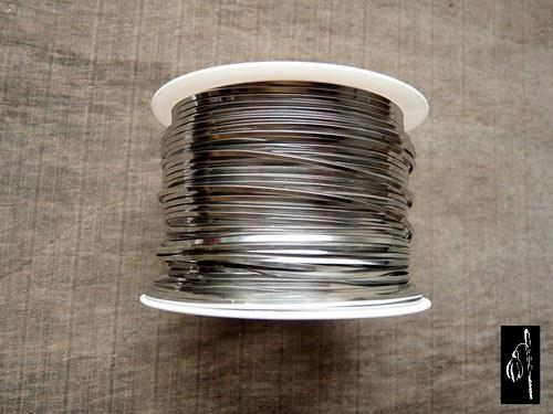 Měkký nerezový drát 0,8x0,8 mm, 5 m