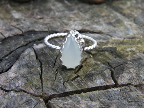 Prsteň Ag 925 Mesačný kameň