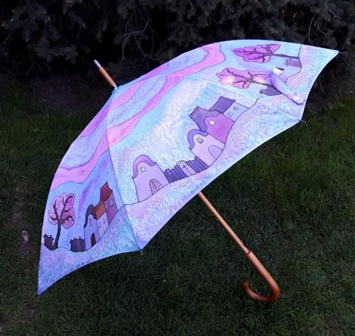 VESELÝ DOMEČKOVÝ-deštník