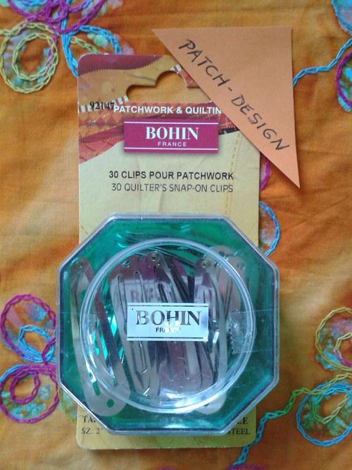 Spínací sponky Bohin, 30 ks