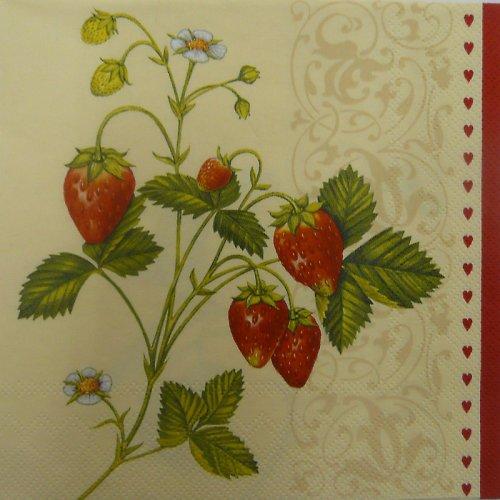 Ubrousek - jahody