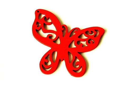 dřevění motýlci- červení