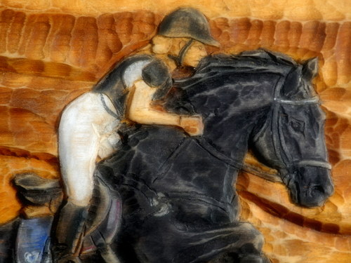 Koňský podle obrázku na přání