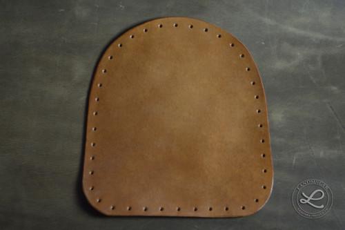 Kožené postranice 2 ks - polotovar na kabelky